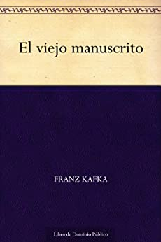 viejo manuscrito Spanish Franz Kafka ebook product image