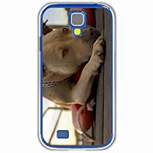 Personalized Samsung Galaxy S4 SIV 9500 Back Cover Diy PC Hard Shell Case Dog White