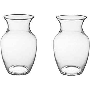 Amazon Eastland Wide Cylinder Vase 8 Set Of 6 Home Kitchen