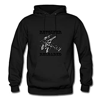 Arturobuch Black X-large Styling Revolver_reloaded Hoodies For Women
