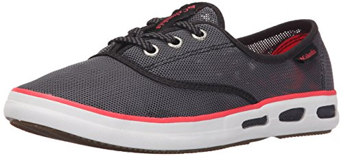 Lace Low B Sneakers WoMen Grey M Top Columbia Mesh US Red N Shark Laser Vulc Red Vent 1TIFUw