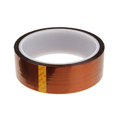 TERMATH (2-Pack) High Temperature Insulation Polyimide Film Tape (30mm33m) (Sink 0.05 Mm)