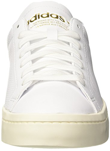 footwear Scarpe Adidas footwear Black Fitness Da White core Bianco White Courtvantage Uomo xYCq5w1S
