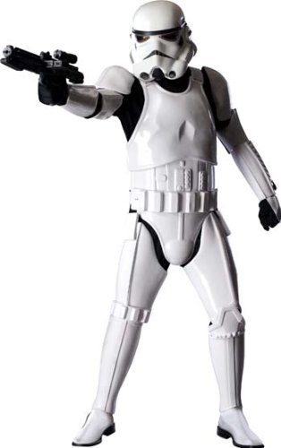 Rubie's Collector Supreme Edition, Star Wars, Stormtrooper Costume, White, Adult Standard for $<!--$655.08-->