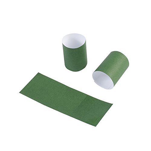 Gmark Paper Napkin Band Box of 2500 (Hunter Green), Paper Napkin Rings self Adhesive GM1054