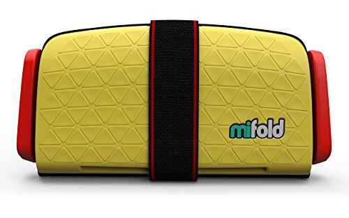 mifold Grab-and-Go Car Booster Seat, Yellow Taxi