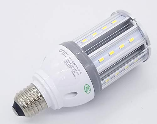 OptieoLED Corn Light - Energy Efficient, 18W Daylight 5000k E26, Replaces 100W Compact Fluorescent (CFL)