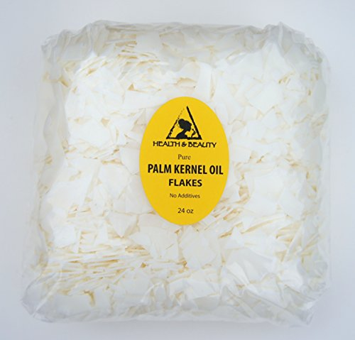 Palm Kernel Oil Flakes Organic Pure Natural for Soaps Cosmetics 24 oz