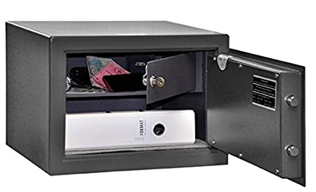 gun cabinet safe short weapons 300 x 420 x 380 mm pistols vault rh amazon co uk