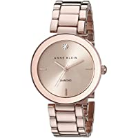 Deals on Anne Klein Rose Dial Rose Gold-tone Ladies Watch