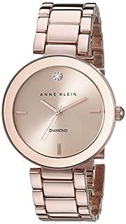 Anne Klein Women's AK-1362RGRG Diamond Dial Watch Rose Gold/Rose Gold (B00AJS4GY4) | Amazon Products