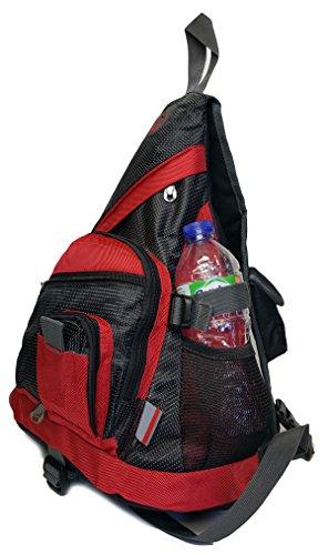 Red Style Travel Navy Bike 1 Sling 1154 style Gym School Cycling Gfm Backpack Biking 6Onxq47w