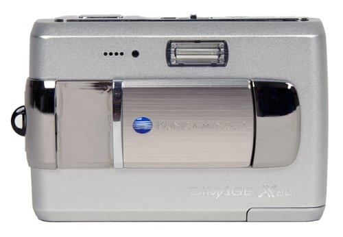 X60s Lcd - Konica Minolta X60 5MP Digital Camera with 3x Optical Zoom