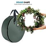 ZOBER Christmas Wreath Storage Bag - Premium 600D