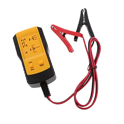 Dovewill Electronic 12V Car Relay Tester for 4Pin 5Pin Relay