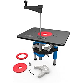 Kreg prs3040 precision router table insert plate levelers amazon kreg prs5000 precision router lift greentooth Choice Image