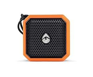 Outdoor Bluetooth Speaker, Orange Pebble Lite Small Bluetooth Speaker Waterproof