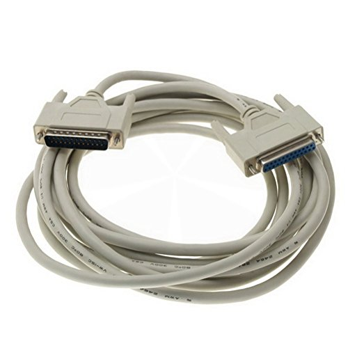 Female to Male DB25 25 Pin Parallel SCSI Extension Cableby KPSheng