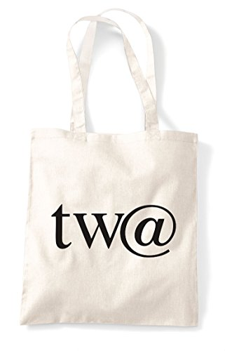 Natural Gaming Bag Tote Character Shopper Sign Statement Gamer Twat At 1qTwcz