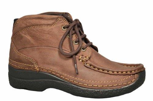 Wolky Boots 6242 Roll Shoot 930 braun Nubuk