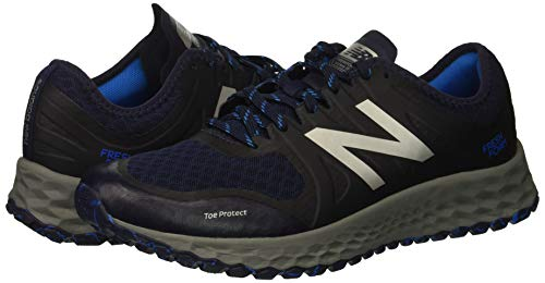 New Balance Men's Kaymin V1 Fresh Foam Trail Running Shoe Pigment/Laser Blue 1.5 D US by New Balance (Image #6)