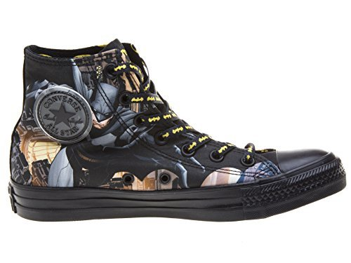 Converse Chuck Taylor All Star Hi Batman Sneaker (Mens 6 womens 8, - League Justice Shoes