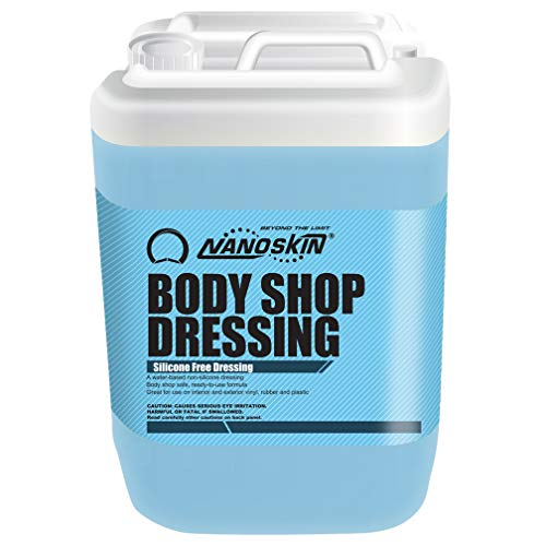 Nanoskin Body Shop Dressing Silicone Free Exterior & Tire-Dressing [NA-BSD640], 5 Gallons