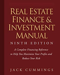 Real Estate Finance and Investment Manual (0470260408) | Amazon price tracker / tracking, Amazon price history charts, Amazon price watches, Amazon price drop alerts