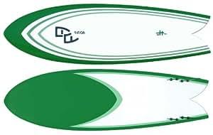 """Fugu 6'4"""" Quad Fin Retro Fish Surfboard (Epoxy)"""
