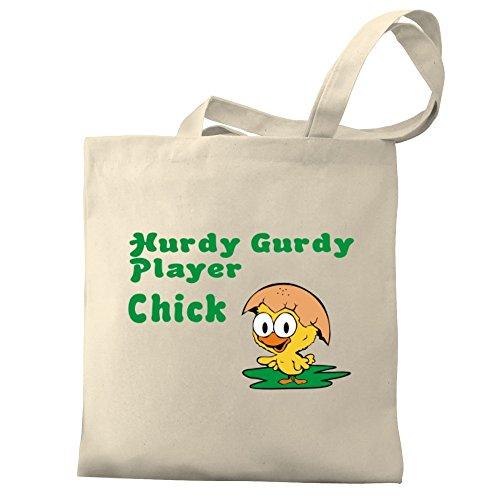Eddany Player Hurdy Tote chick Hurdy Canvas Eddany Bag Gurdy OZTwzdq