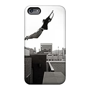 Hard Protect Phone Cases For Apple Iphone 6s (KKm422vgxw) Allow Personal Design Fashion Sports Parkour Boy Skin