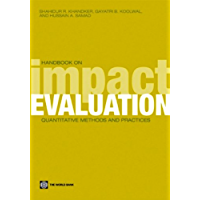 Handbook on Impact Evaluation (World Bank Training Series) (English Edition)
