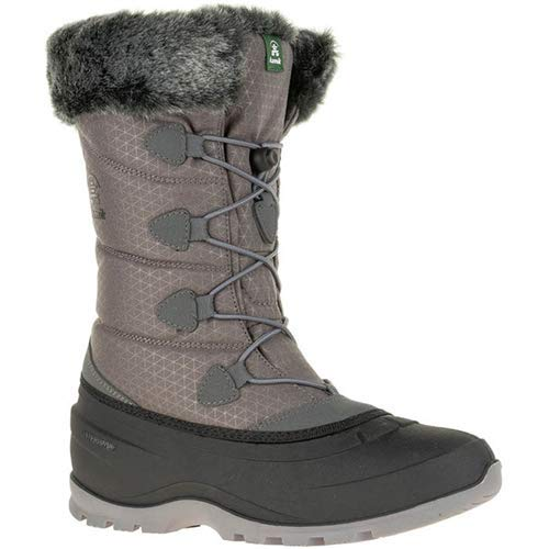 Kamik Women's MOMENTUM2 Snow Boot, Charcoal, 8 Medium US