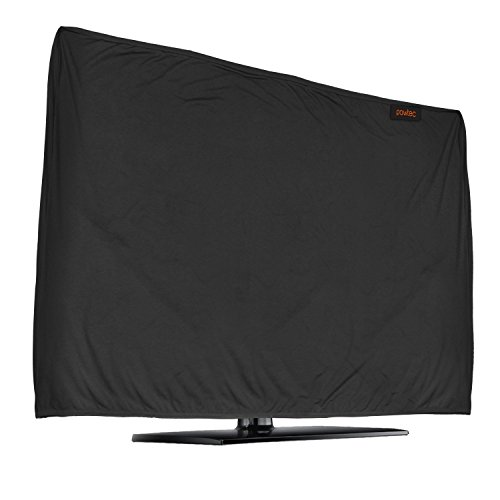 Lightweight Flat Screen TV Cover – Full Body Stretchable Lycra Protection Sleeve - Fits 47-50' LED, OLED, LCD, and Plasma Televisions (47-50 inch)