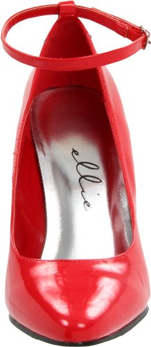 8401 Ellie Patent Red Pump Shoes Women's wAqPEfUWn