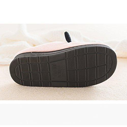 Scivolosi Interno Caldi Del Fumetto Cotone Pattini Pattern Di Inverno Pavimento Pantofole 1 Pistola Domestici Della qwYftxC1