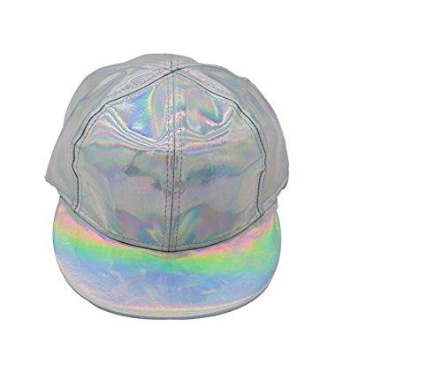honeysuck Cool laser Peaked Trendsetter Cap Fasion color futurista ZHZvwr