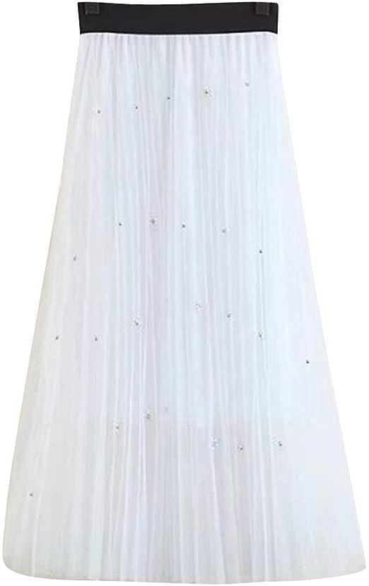 Faldas para Mujer Moda Verano Falda Casual De De Verano Moda ...