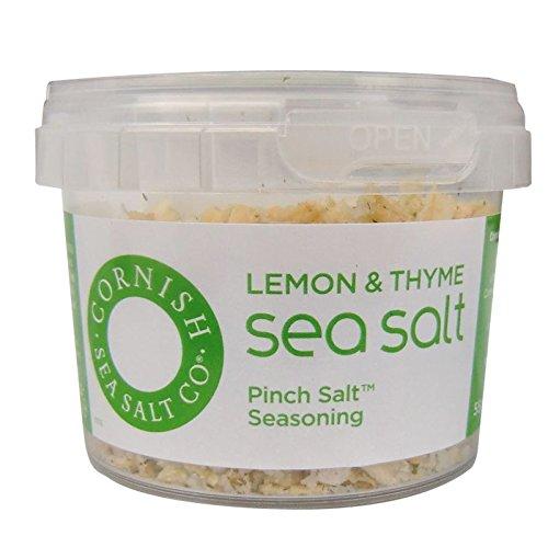 Cornish Lemon & Thyme Sea Salt Tub 55g