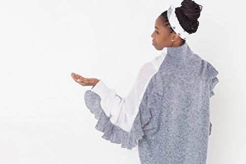 Ruffle dress Knit dress Knitted dress Ruffle top Ruffle sweater Knitted sweater Knit sweater Designer knitwear Designer Fashion Oversized by Esh by esh