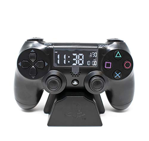 Paladone Playstation Officially Licensed Merchandise - Controller Alarm Clock from Paladone