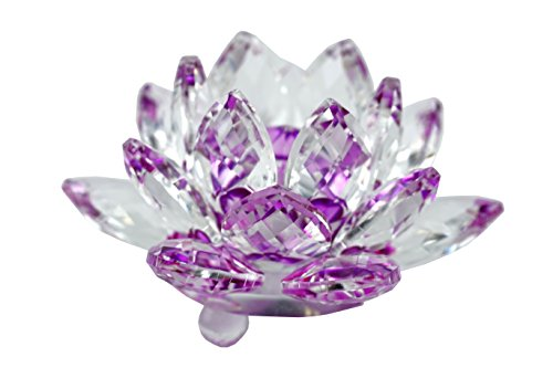 Mstechcorp High Quality Sapphire Sparkle Crystal 3 inch Deco