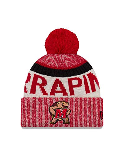 61202b95bd8 Maryland Terrapins Adult NCAA NE17 Sport Knit Beanie - Team Color