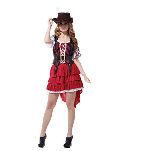 Spooktacular Women's Carribean Pirate Costume Set, M