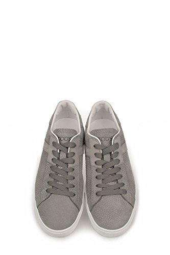 Tod's - Zapatillas de Piel para hombre Cromo+cemento+fondo bianco