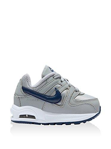 Nike 844348-041, Zapatos de Primeros Pasos Bebé-Niño, Gris (Wolf Grey / Coastal Blue / White), 21 EU