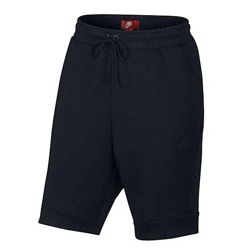 Black Negro Nsw M black Tch Flc Hombre Para Corto Nike Pantalón Black A6q7wOO