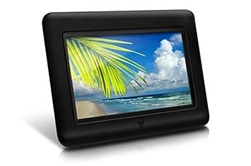 Amazoncom Aluratek Adpf07sf 7 Inch Digital Photo Frame Black