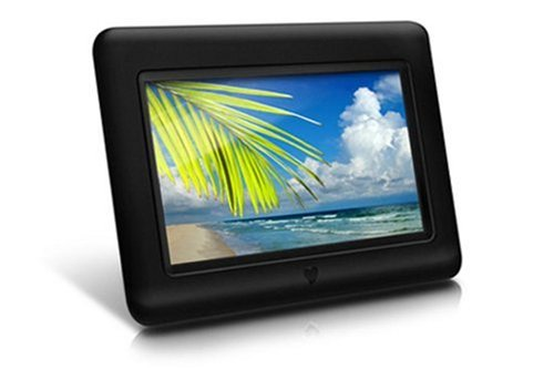 Aluratek  7 Inch Digital Photo Frame - Black