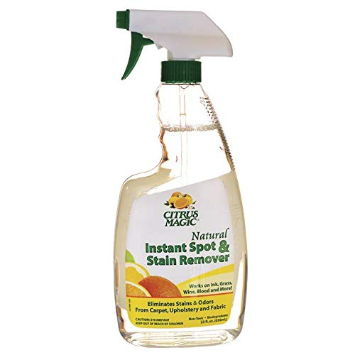 (Citrus Magic Natural Instant Spot and Stain Remover Spray, 22 Fluid Ounce)